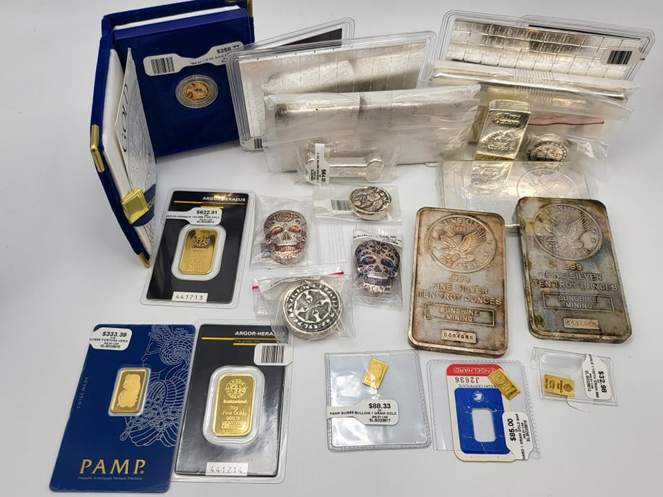 OCT 5th 2021 - Silver and Gold Lot Idaho Pawn & Gold Nampa / Boise